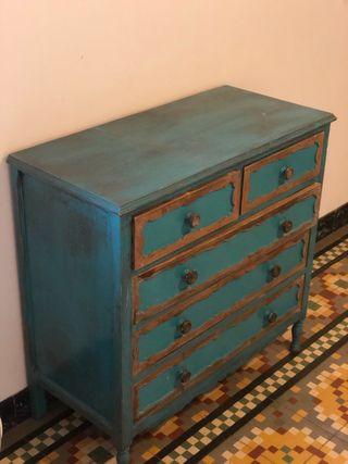 Cajonera de madera vintage( no es Ikea)