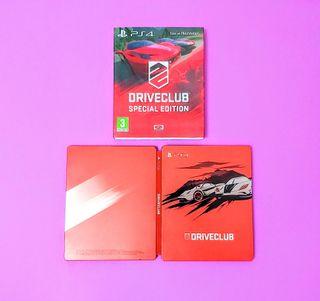 Steelbook Driveclub (sin juego)