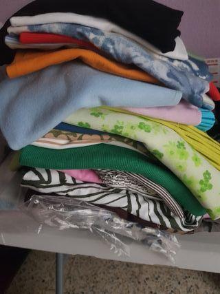 camisetas tirantes y manga corta