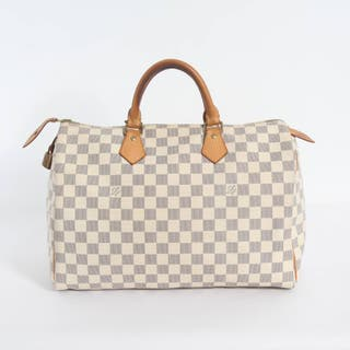 BOLSO LOUIS VUITTON SPEEDY 35 DAMIER AZUR E338784