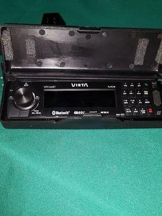 Radio de coche con mp3 y usb, altavoces....