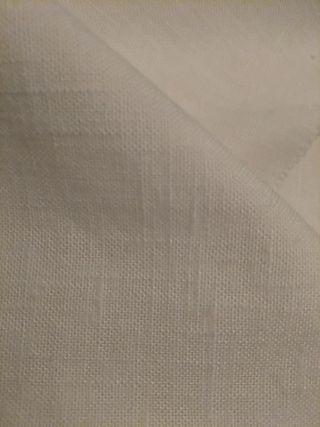 tela blanca semi hilo