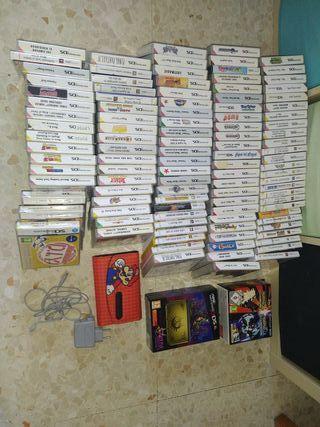 Vendo Colección Nintendo DS y 3DS