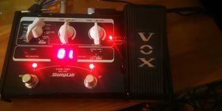 Se vende Pedalera VOX