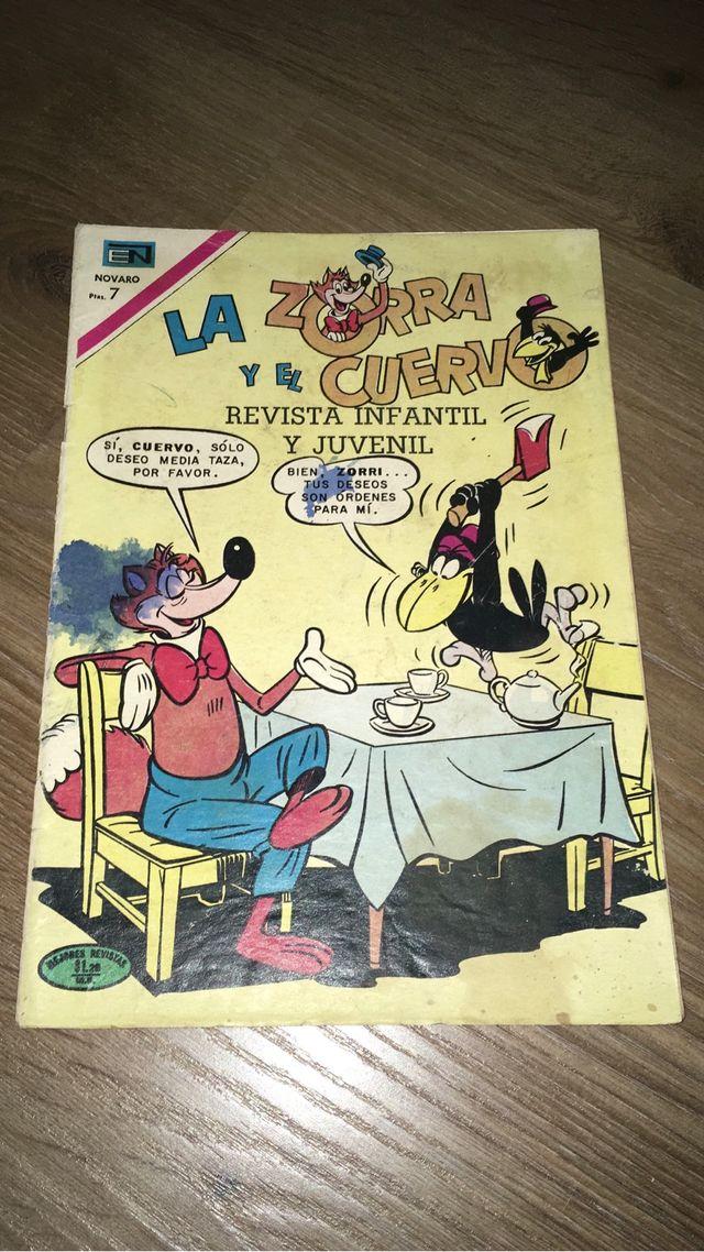 COMICS/TEBEOS NOVARO-LA ZORRA Y EL CUERVO