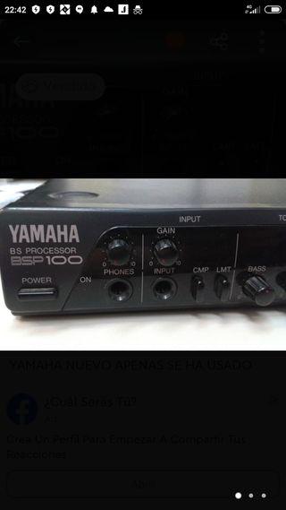Yamaha BSP 100 procesador