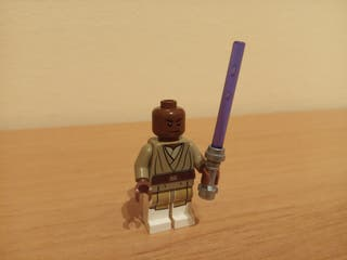 Figura Mace Windu Lego Star Wars 75019