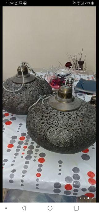 dos lámparas árabes
