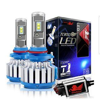 Envio Gratis-Kit Bombillas H7 TurboLed Alta Potenc