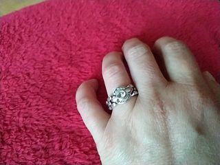 anillo plata años 80 tipo cartier