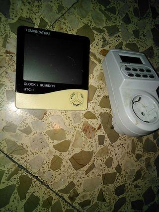 Termómetro humedad.. más temporizador