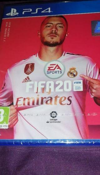 FIFA 20 PS4 precintado