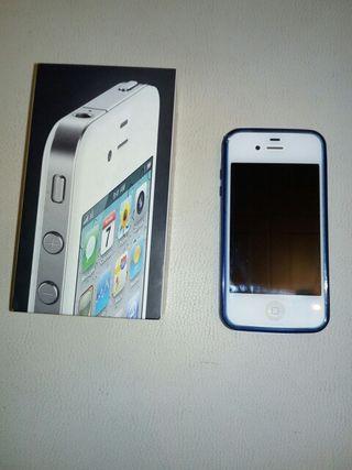 vendo iphone 4 de color blanco