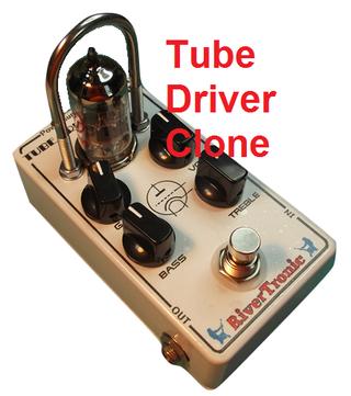Pedal Guitarra Tube Driver Clone