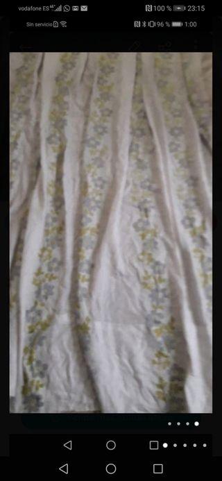 2 hermosa cortinas 240x100