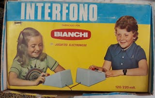 INTERFONO ANTIGUO MARCA BIANCHI AÑOS 70