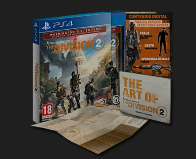 se vende the division 2 ps4
