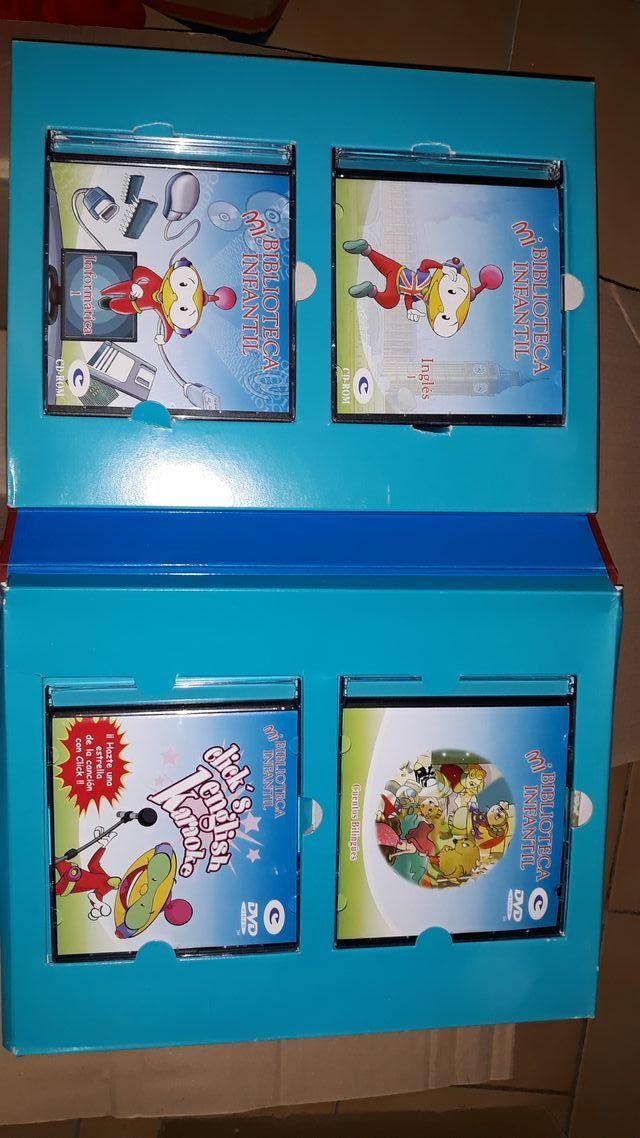 Colección de libros en inglés.