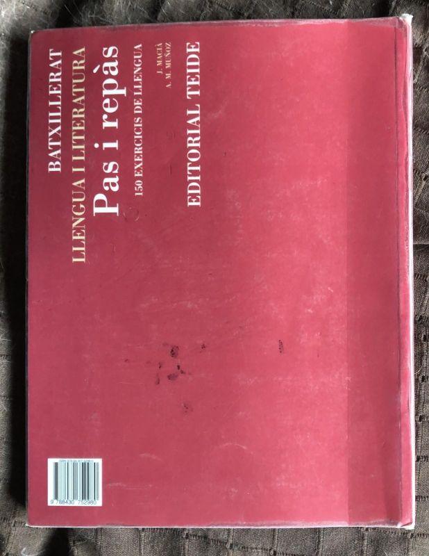Libro de literatura catalana