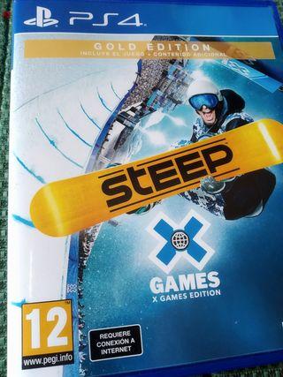Vendo o cambio juego Steep Ps4 PlayStation