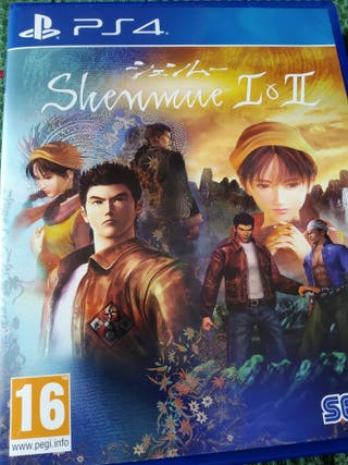 Vendo o cambio juego Shenmue 1 y 2 Ps4 PlayStation