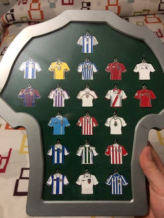 Llaveros liga de Fútbol profesional.