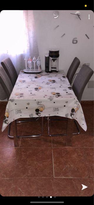 Mesa 4 silla 4fonda