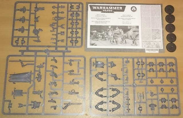 Space Marine Command Squad Warhammer 40,000