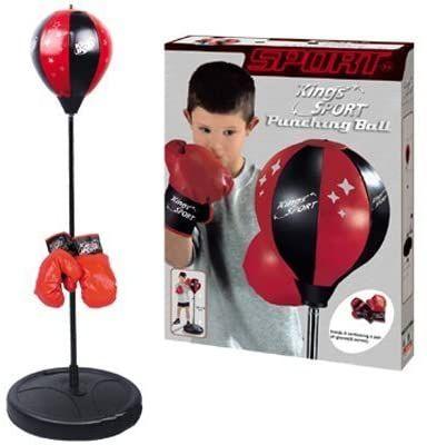 Boxeo. kings sport punching ball
