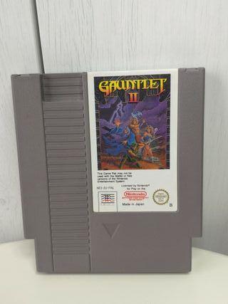 juego gauntlet II de Nintendo NES