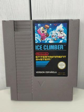 juego ice climber Nintendo NES Pal España