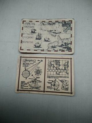 Playmobil cartas de navegación