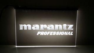 Cartel decoracion Marantz