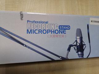 Brazo fijación Microfono profesional
