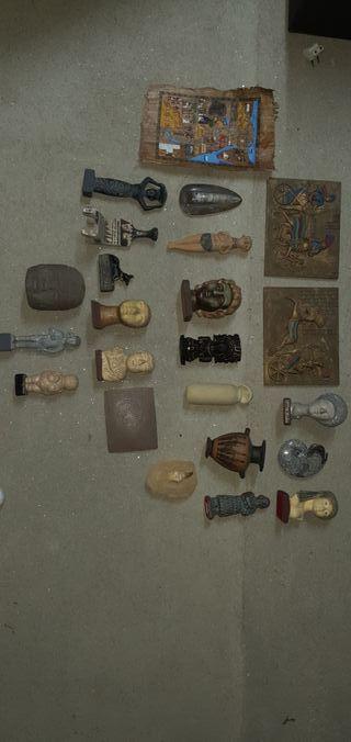 figuras egipcias, griegas, romanas