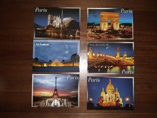 Postales Paris