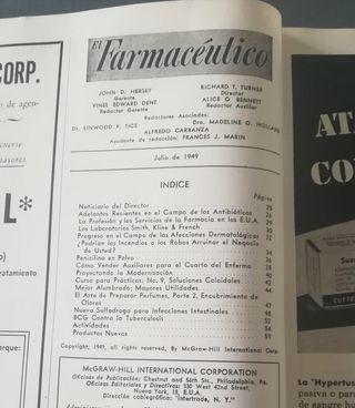 1949. Revista EL FARMACÉUTICO