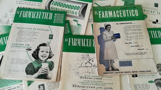 1946. Revista EL FARMACÉUTICO