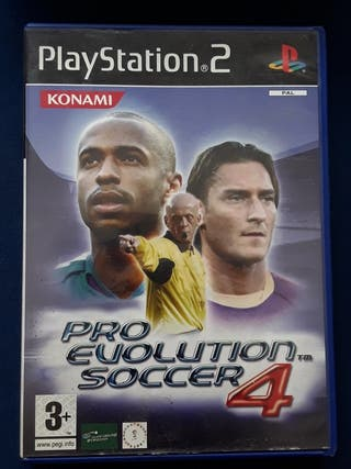 Pro evolution soccer 4 para PS2