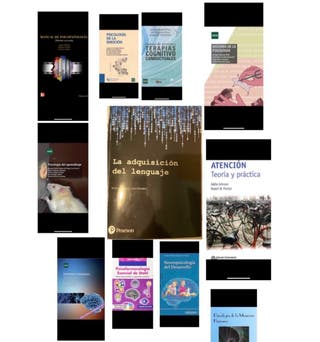 libros grado psicologia uned actualizados