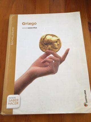Libro de Griego, Santillana para bachillerato