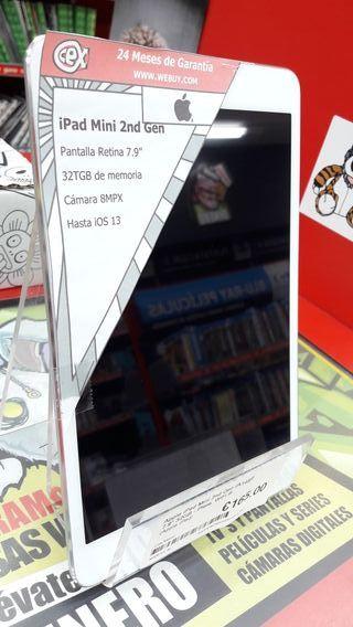 """Apple iPad Mini 2 (A1489) 7.9"""" 32GB Plata WiFi B"""