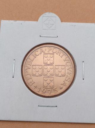 Moneda de 1 Escudo de Portugal 1975. SIN CIRCULAR.