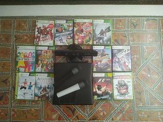 Xbox 360 con 12 juegos