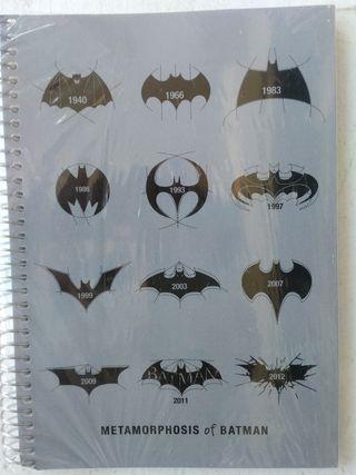 Regalo cuaderno BATMAN