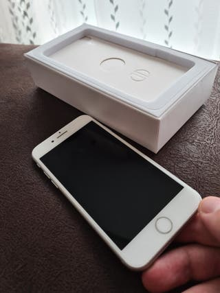 IPHONE 8 BLANCO SILVER PLATA 64 GB