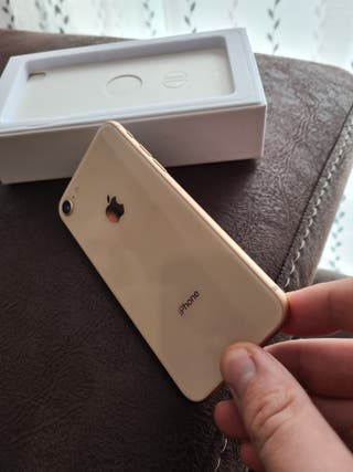 IPHONE 8 ORO Y ROSA