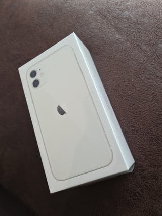 IPHONE 11 128 GB BLANCO nuevo factura y garantia