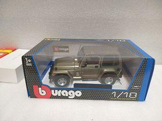 1/18 maqueta Jeep Wrangler
