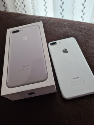 IPHONE 7 PLUS 128 SILVER PLATA perfecto